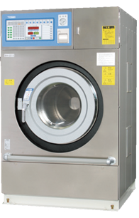 Hot-water disinfection washer / dryer
